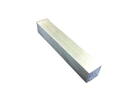 アルミ四角棒 10ミリ×10ミリ 長さ10センチより1センチ単位で自由カット 10センチ〜200センチまで