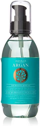African Skincare Marrakech Argan Body Oil, 200 Milliliter