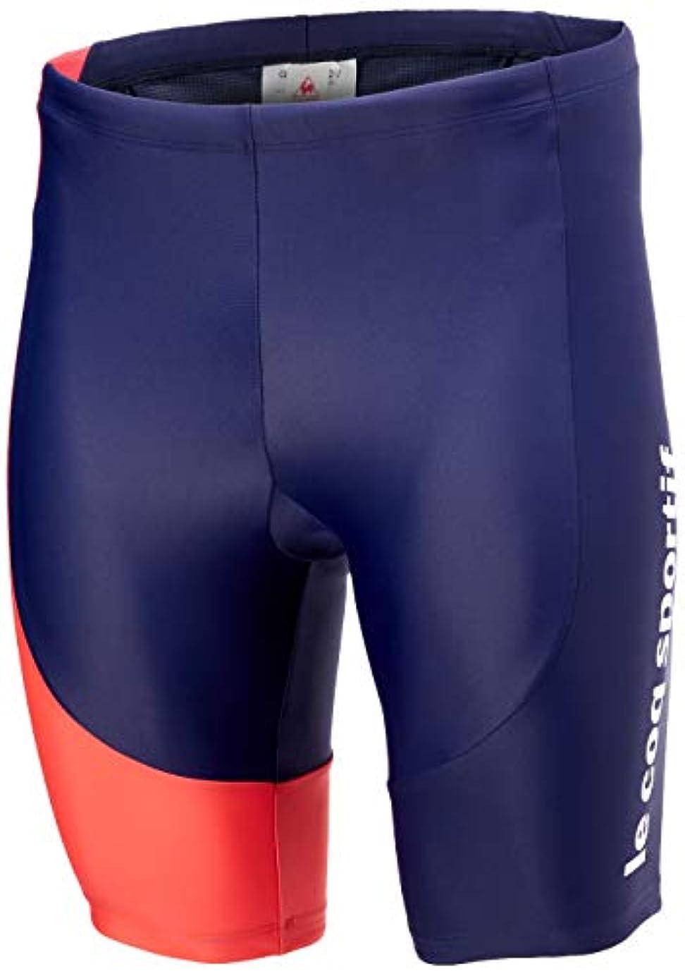 雇用願う破滅[ルコックスポルティフ] ショートパンツ/Short Pants サイクリングパッド,再帰反射,UPF50+