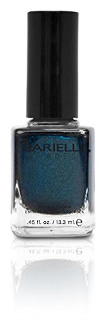 粗い考古学者信頼性のあるBARIELLE バリエル ブラクンド ブルー 13.3ml Blackened Bleu 5074 New York 【正規輸入店】