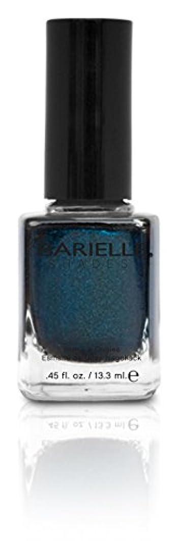 陰謀槍想定BARIELLE バリエル ブラクンド ブルー 13.3ml Blackened Bleu 5074 New York 【正規輸入店】