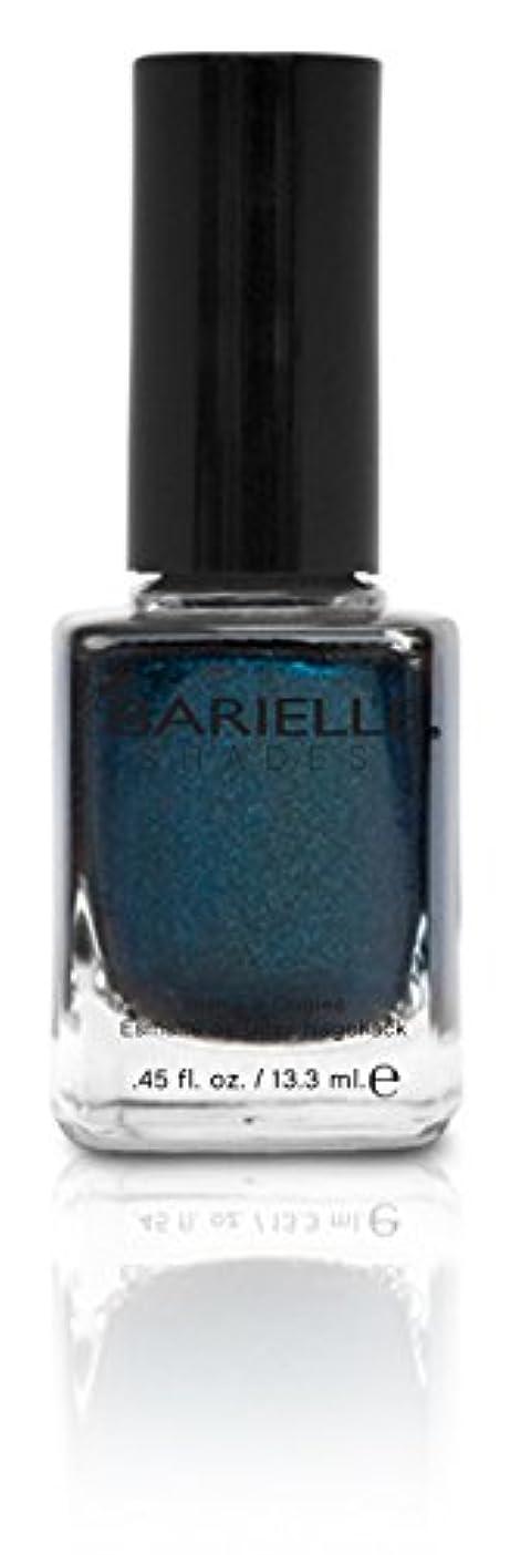 水没未接続バスBARIELLE バリエル ブラクンド ブルー 13.3ml Blackened Bleu 5074 New York 【正規輸入店】