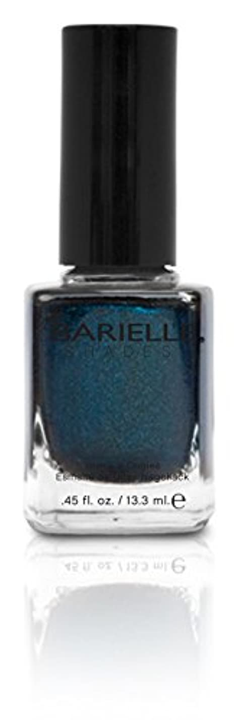 イディオム言語学バンクBARIELLE バリエル ブラクンド ブルー 13.3ml Blackened Bleu 5074 New York 【正規輸入店】