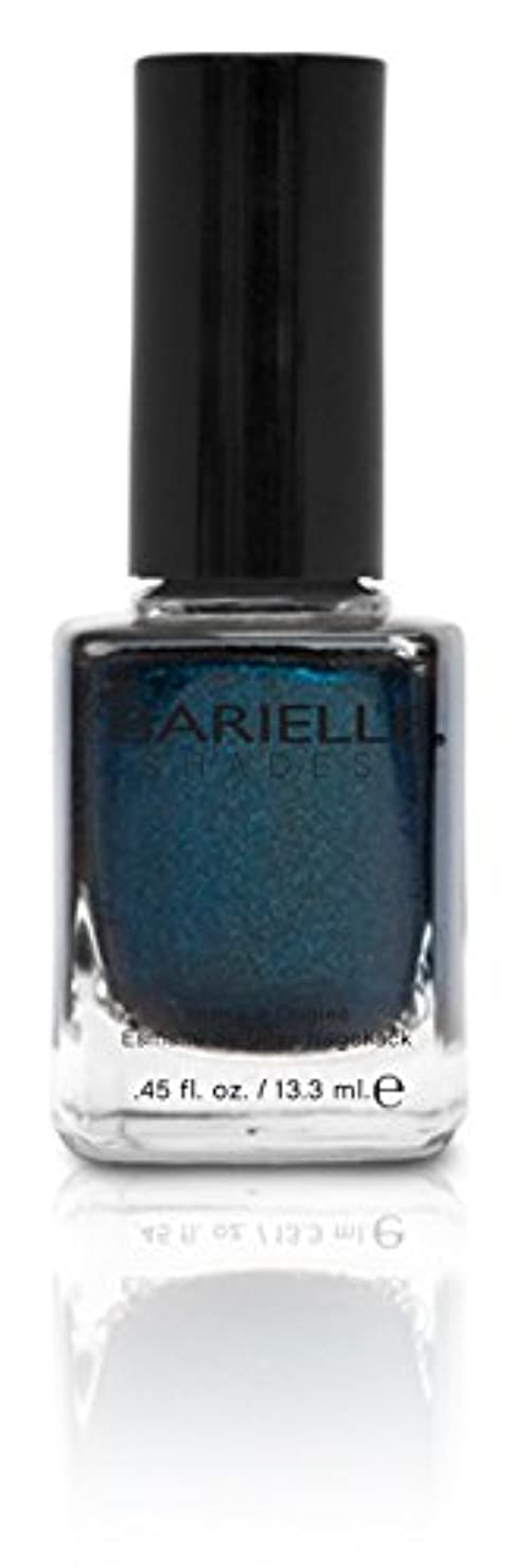 流す端端BARIELLE バリエル ブラクンド ブルー 13.3ml Blackened Bleu 5074 New York 【正規輸入店】