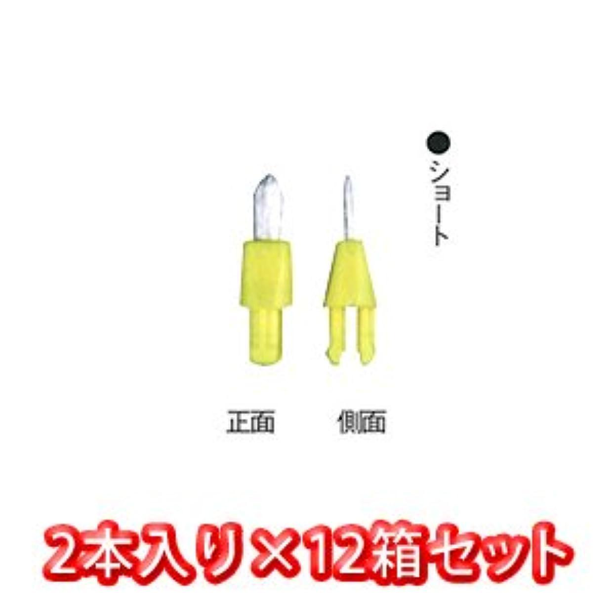 電気の意味するしなければならないポケット ? クリーナー 専用 替え ブラシ 2個入 × 12箱 ショート
