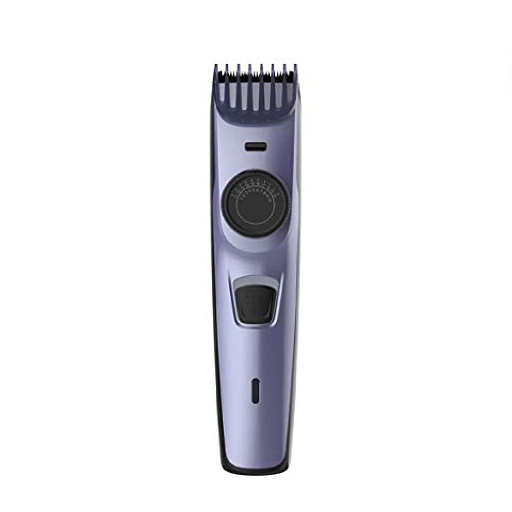 Intercoreyプロの電気バリカンUSBケーブル充電式ワイヤレス男性DIYヘアマシン付きヘアカッター