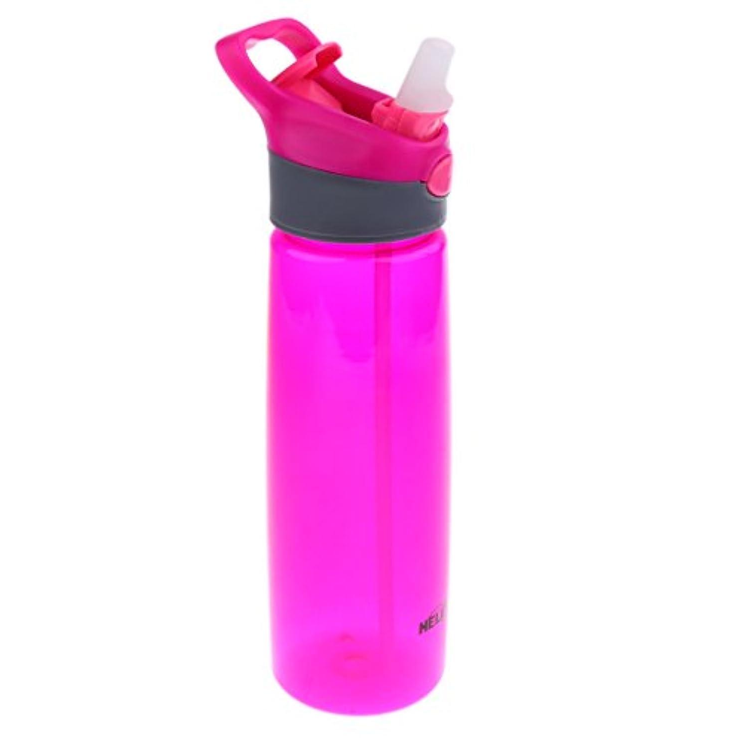 信仰警戒近くSONONIA 軽量 大容量 スポーツ/ジム/旅行用 700ML プラスチック ウォーターボトル カップ フリップ ストロー ボトル