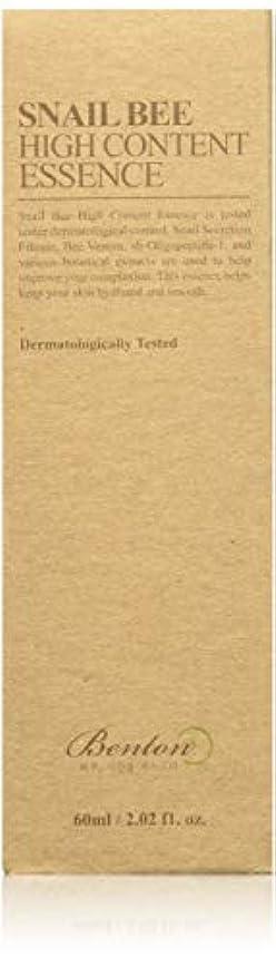 人口盟主マイルドBENTON Snail Bee High Content Essence (並行輸入品)