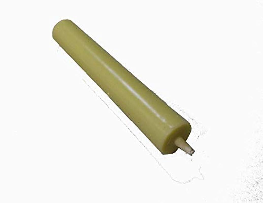 アラブサラボ男らしいビン和ろうそく 型和蝋燭 ローソク 棒 10号 白 10本入り 約16.5センチ 約2時間40分燃焼
