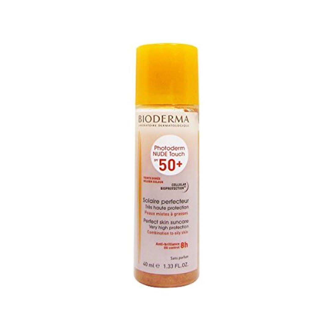 出発非互換放課後Bioderma Photoderm Nude Touch Spf50 + Golden 40ml [並行輸入品]