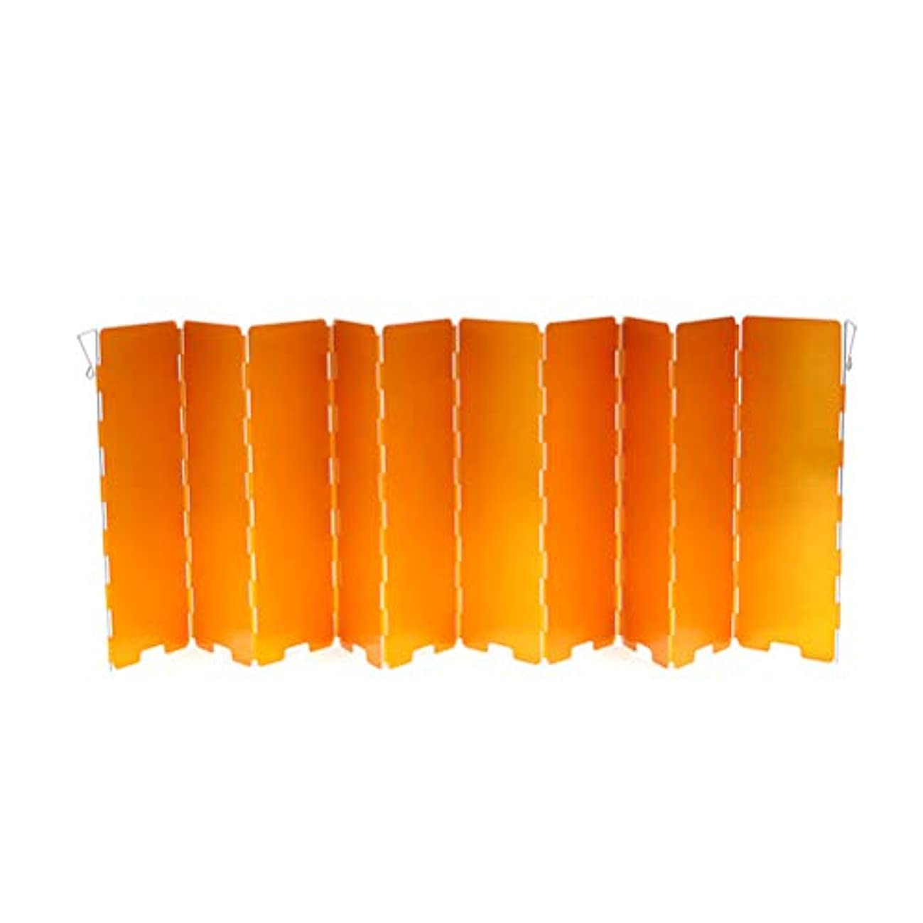 環境保護主義者日焼けコックLioobo 10プレート軽量ストーブフロントガラス折りたたみストーブフロントガラスアルミ合金風防用屋外キャンプバーベキューピクニック