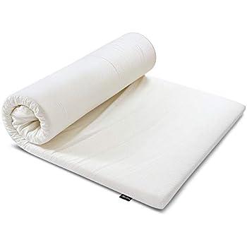 MyeFoam マットレス 高反発 シングル 敷布団 厚さ5cm ベットマットレス 「超ぐっすりで首、肩や腰の悩みから解放」 防ダニ 抗菌防臭 カバー洗える ホワイト