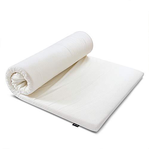 MyeFoam 新世代健康マットレス セミダブル 高反発 三つ折り 体圧分散 寝返りサポート 極上な眠り 腰楽 底付なし 120x200x3cm 収納袋付き 持ち運びにも便利 蒸れにくい 防ダニ 抗菌 おりたたみ 滑止め付き 洗えるカバー 高密度30D 硬め200N