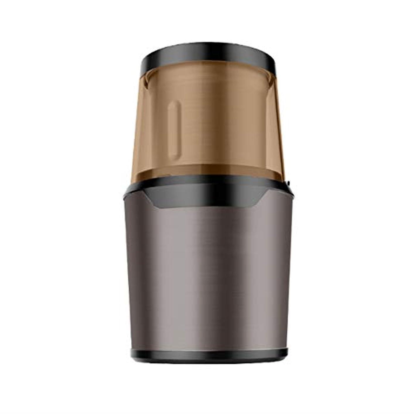 エールバン電話する300ワット電気コーヒーグラインダー多機能大容量コーヒー豆ナッツスパイススパイス穀物バニラグラインダー取り外し可能なステンレス鋼