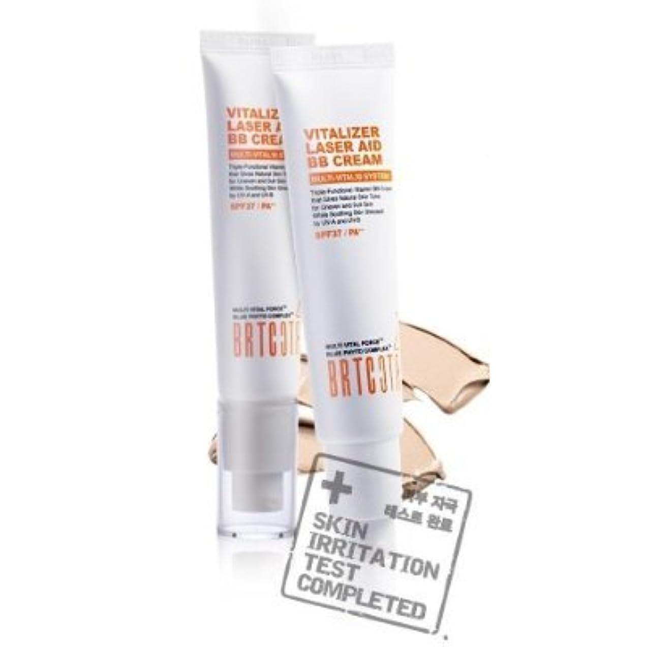 騒々しい絶望的な歌手KOREAN COSMETICS, BRTC, Vitalizer Laser Aid BB Cream 35g (whitening, anti-wrinkle, UV protection SPF37/PA + +,...