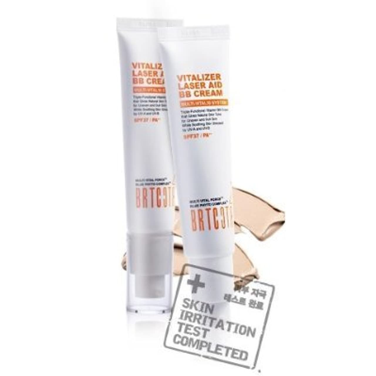 失礼刈る歴史的KOREAN COSMETICS, BRTC, Vitalizer Laser Aid BB Cream 35g (whitening, anti-wrinkle, UV protection SPF37/PA + +,...