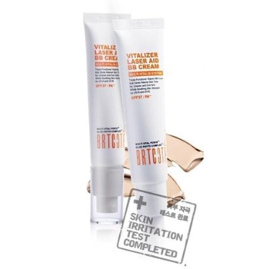おなじみの怠けた記者KOREAN COSMETICS, BRTC, Vitalizer Laser Aid BB Cream 35g (whitening, anti-wrinkle, UV protection SPF37/PA + +,...