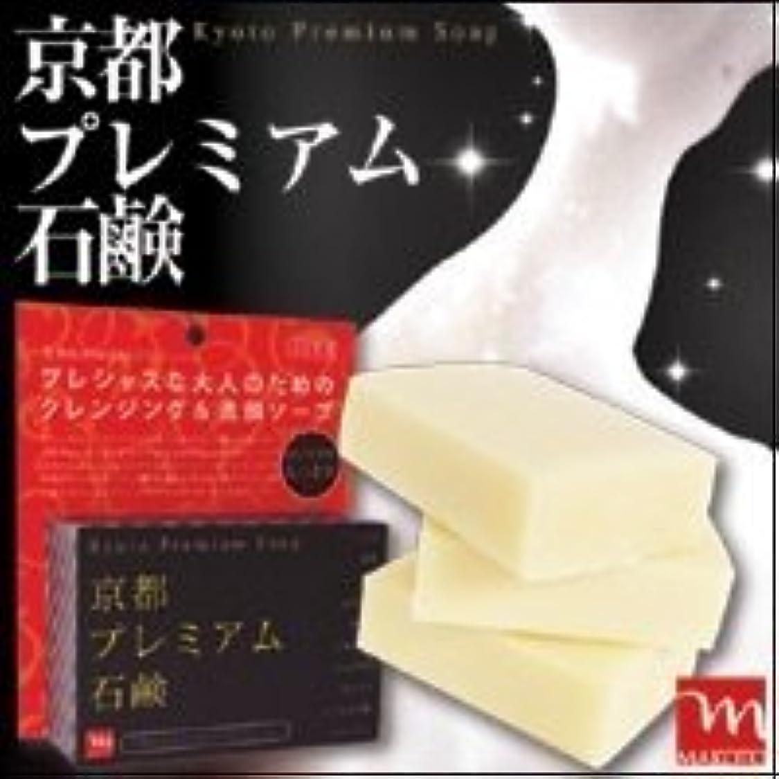 統計かわす否認する京都プレミアム 京都プレミアム石鹸 120g 3個セット
