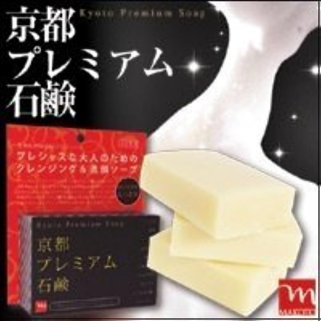 薬用スチール抑圧する京都プレミアム 京都プレミアム石鹸 120g 3個セット