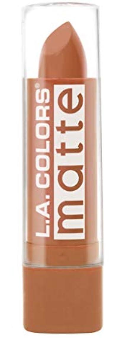 タオル同意するまもなくL.A. COLORS Matte Lip Color - Going Steady (並行輸入品)