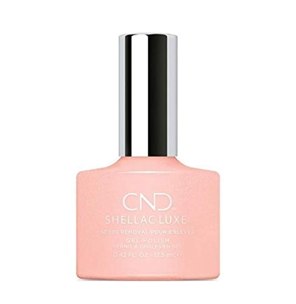 成熟した噴水直感CND Shellac Luxe - Grapefruit Sparkle - 12.5 ml / 0.42 oz
