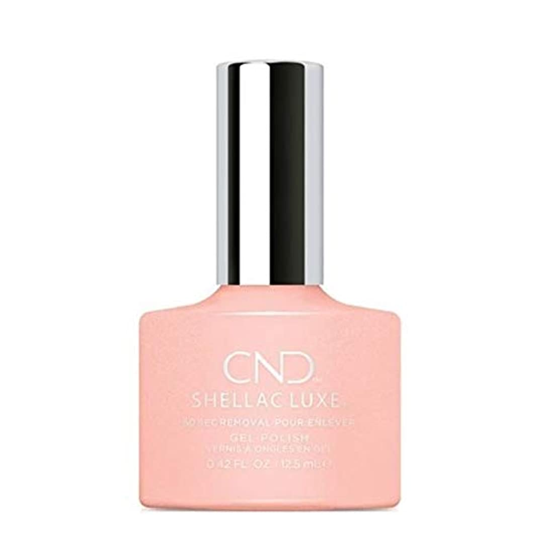 平らな応じるパシフィックCND Shellac Luxe - Grapefruit Sparkle - 12.5 ml / 0.42 oz