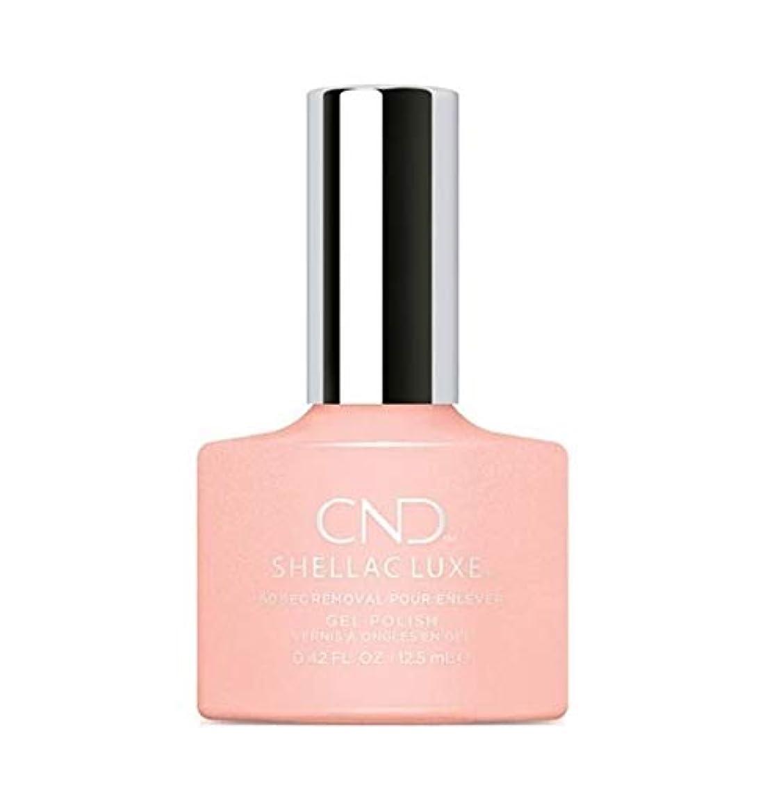 熟す呼ぶ単なるCND Shellac Luxe - Grapefruit Sparkle - 12.5 ml / 0.42 oz