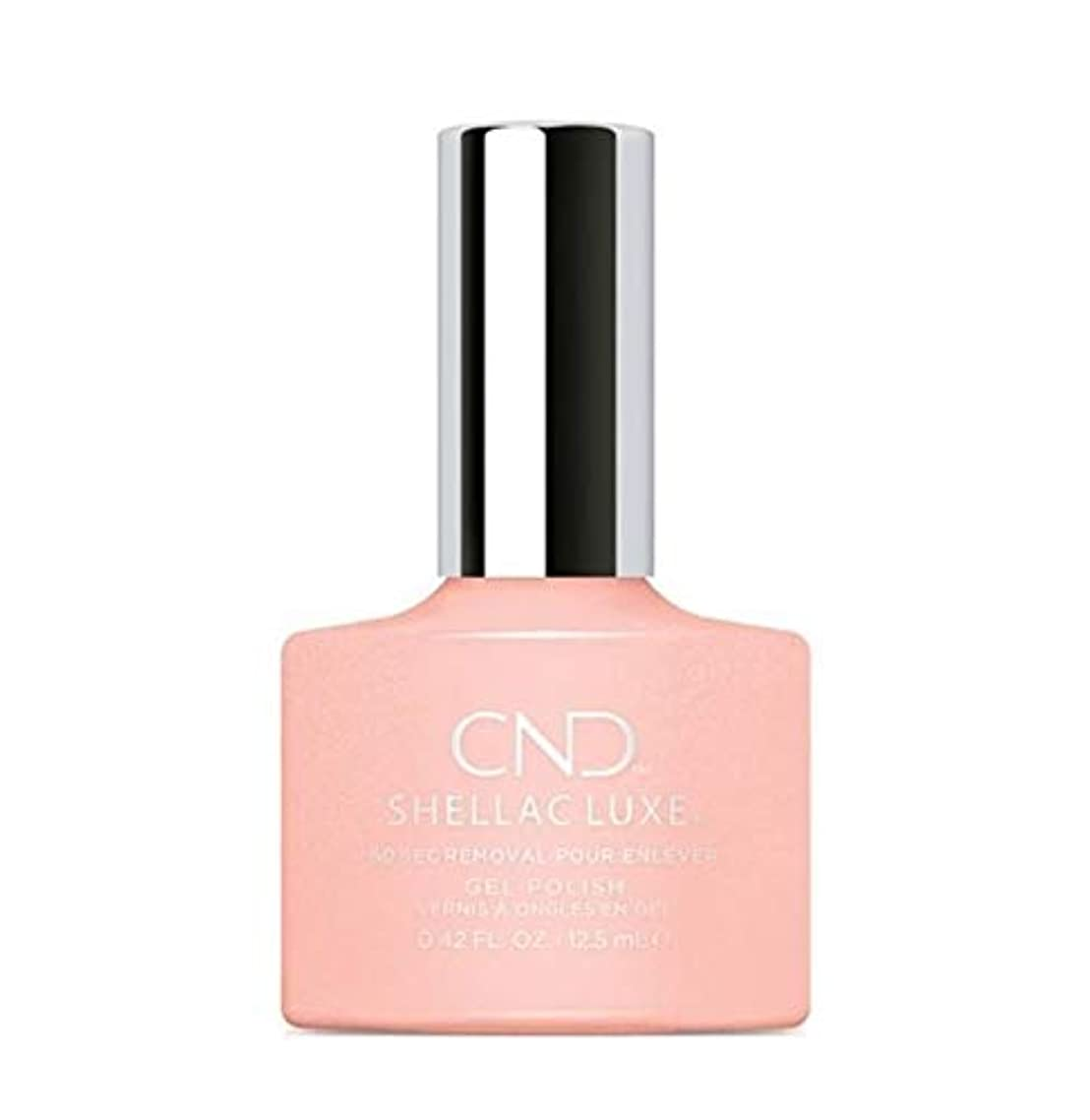 ディンカルビルシビック共役CND Shellac Luxe - Grapefruit Sparkle - 12.5 ml / 0.42 oz