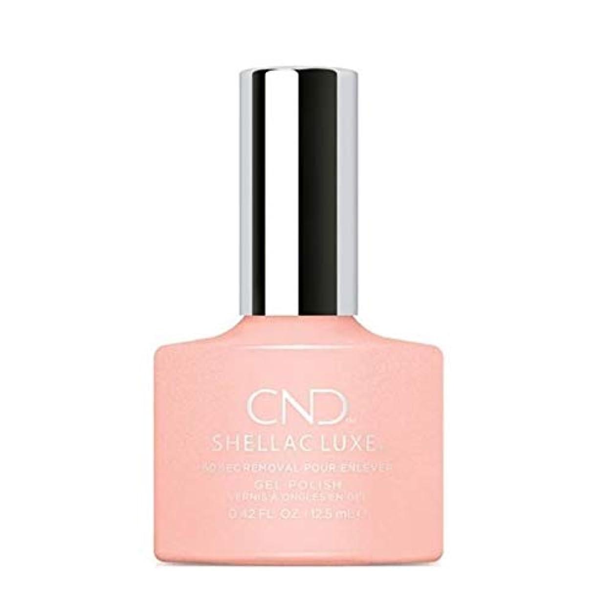 ホールドオール二週間送金CND Shellac Luxe - Grapefruit Sparkle - 12.5 ml / 0.42 oz