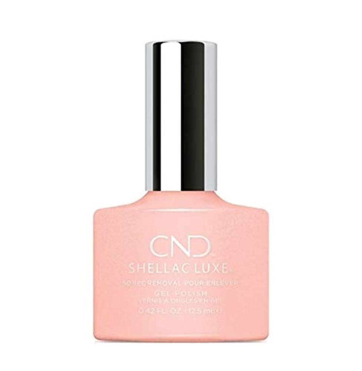 バーチャル店員縮約CND Shellac Luxe - Grapefruit Sparkle - 12.5 ml / 0.42 oz