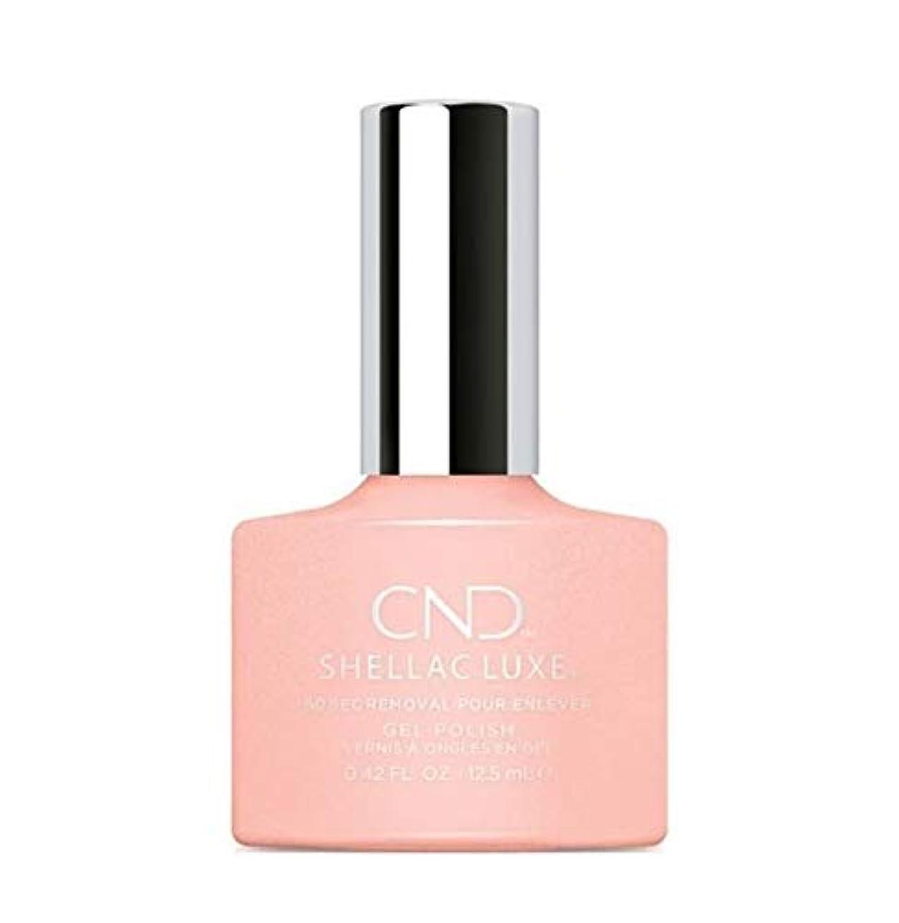 新しい意味天国焼くCND Shellac Luxe - Grapefruit Sparkle - 12.5 ml / 0.42 oz