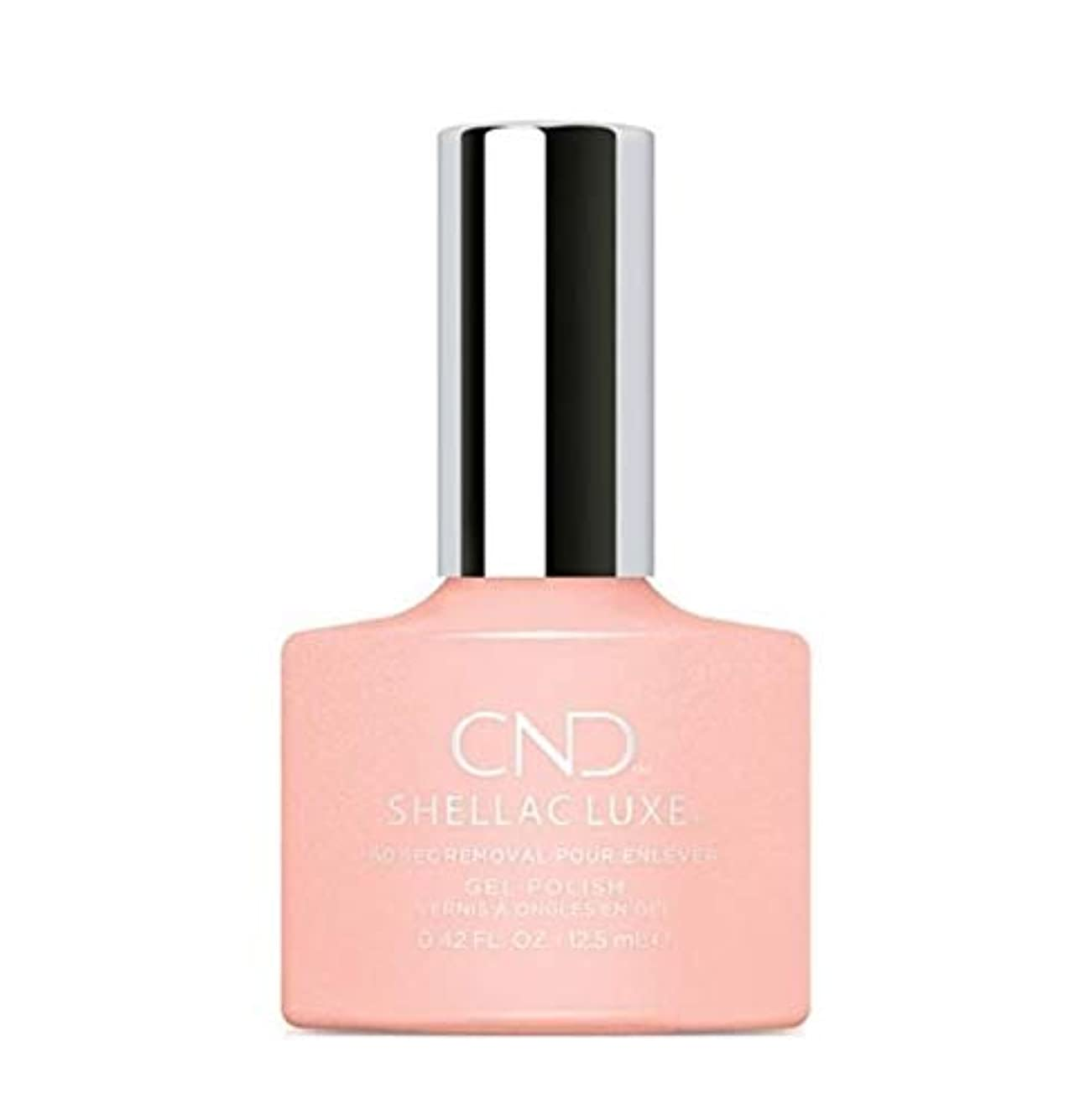 体細胞移植衣装CND Shellac Luxe - Grapefruit Sparkle - 12.5 ml / 0.42 oz