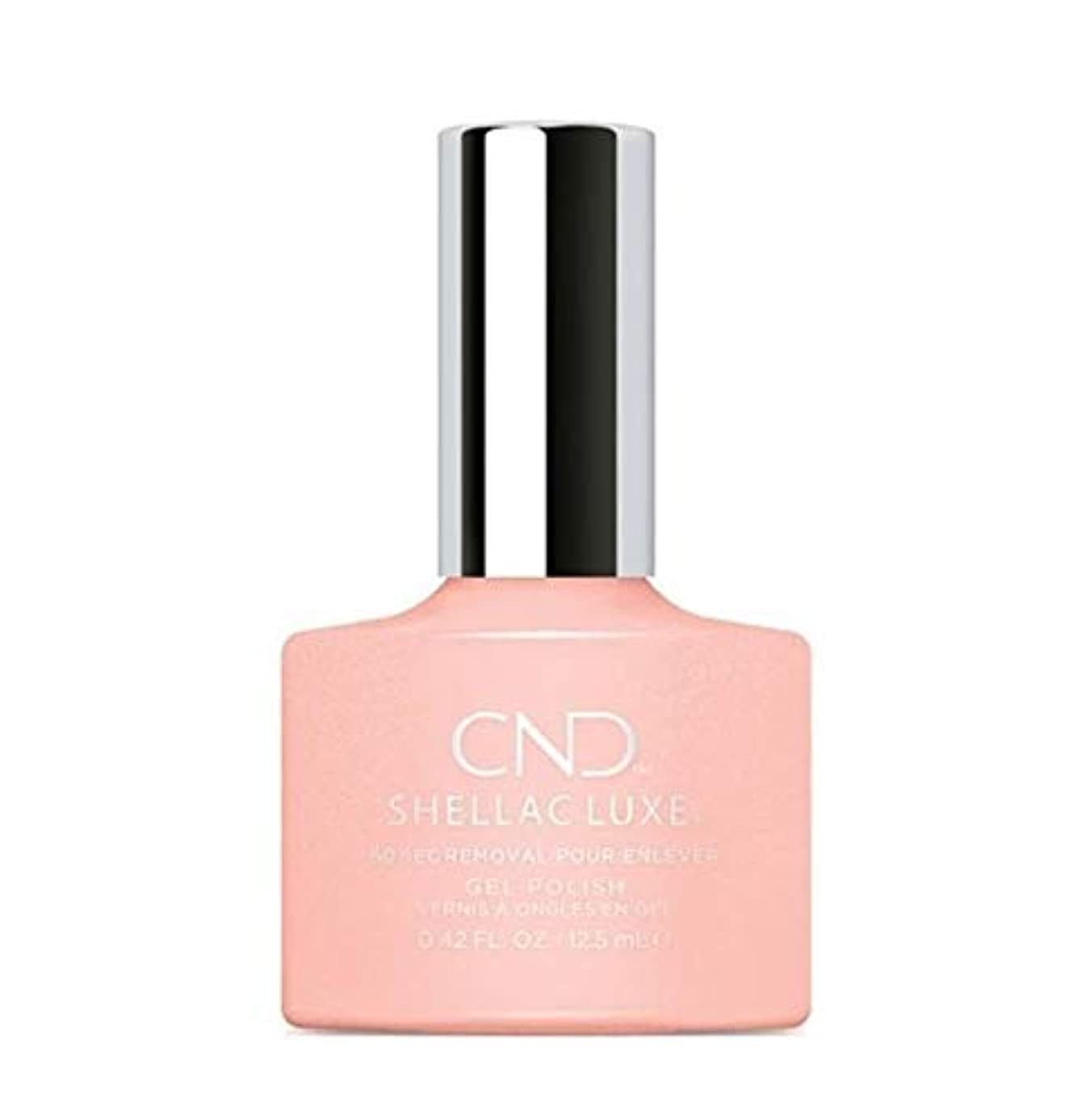 バッテリーで出来ている平均CND Shellac Luxe - Grapefruit Sparkle - 12.5 ml / 0.42 oz