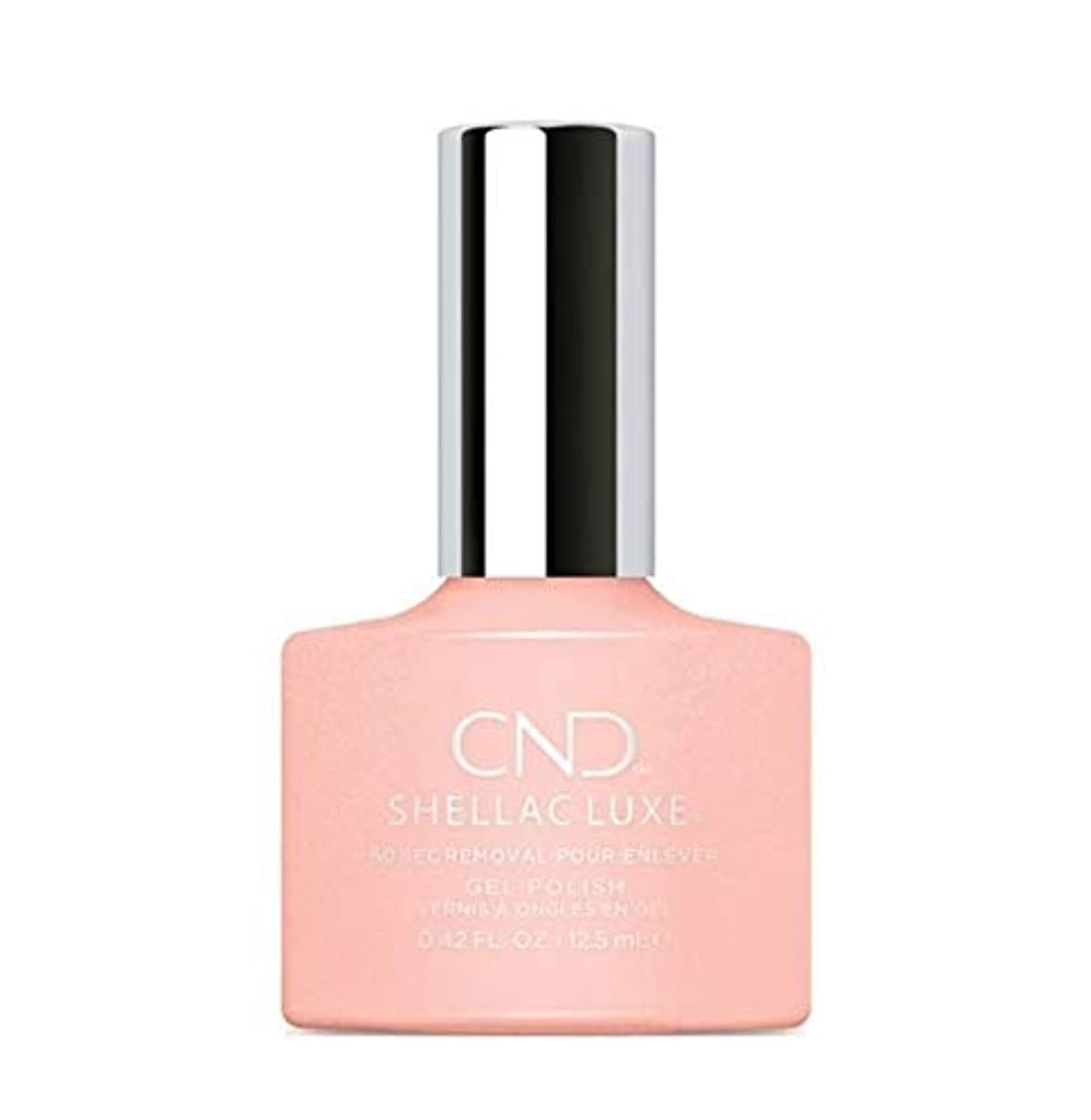 山積みの集まる交渉するCND Shellac Luxe - Grapefruit Sparkle - 12.5 ml / 0.42 oz