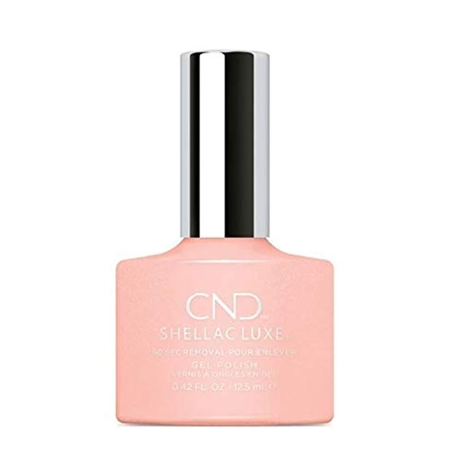 教授破壊的な有毒CND Shellac Luxe - Grapefruit Sparkle - 12.5 ml / 0.42 oz