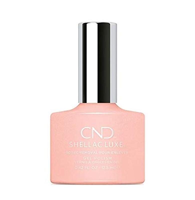 刺激するリムを除くCND Shellac Luxe - Grapefruit Sparkle - 12.5 ml / 0.42 oz