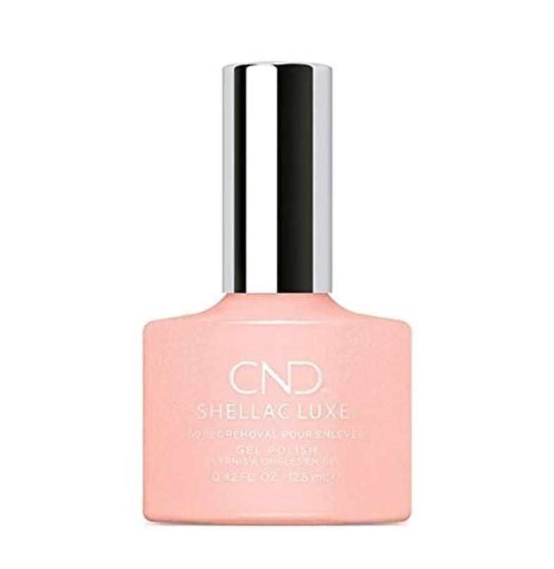 ヘルシー切り離す進化CND Shellac Luxe - Grapefruit Sparkle - 12.5 ml / 0.42 oz