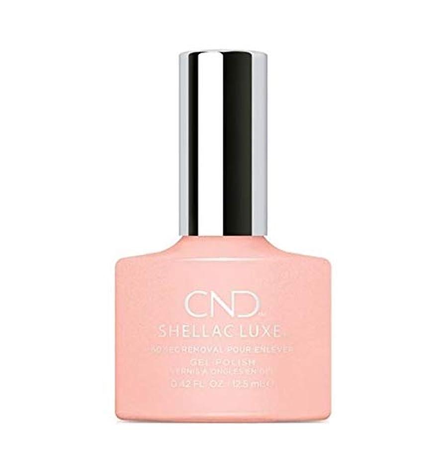 政治家の任命する任命するCND Shellac Luxe - Grapefruit Sparkle - 12.5 ml / 0.42 oz