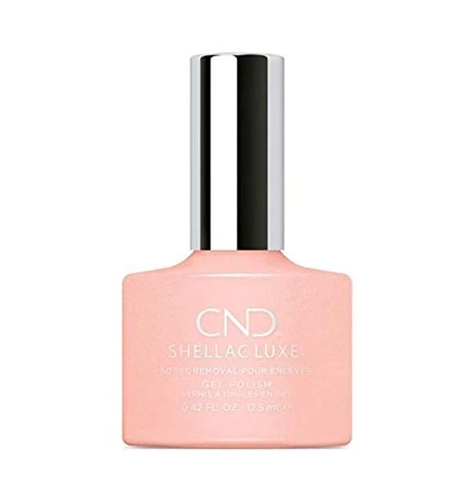 休暇反応する再現するCND Shellac Luxe - Grapefruit Sparkle - 12.5 ml / 0.42 oz