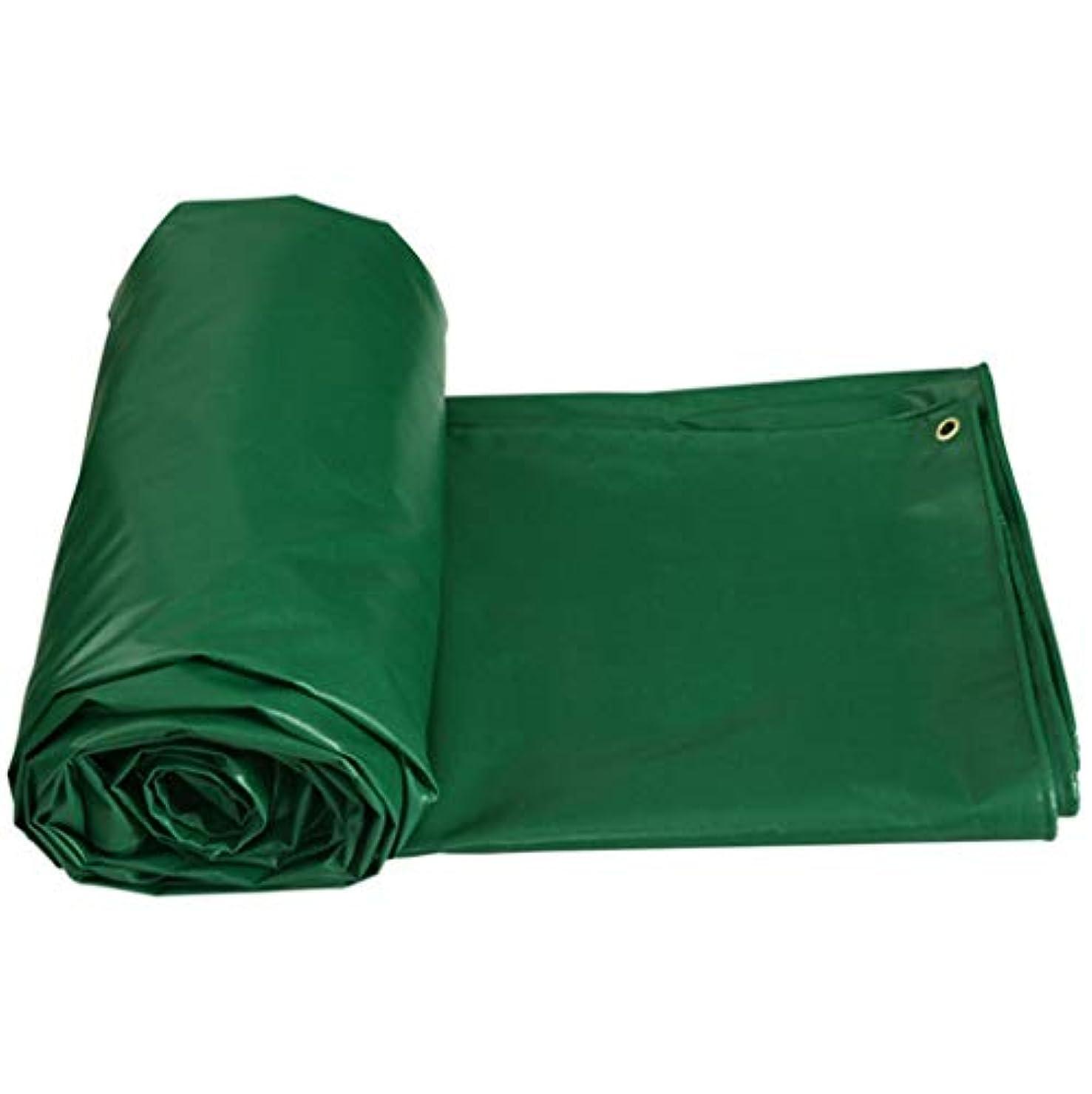 少数なめるマウスオーニングテント ターポリン 緑 厚い レインプルーフクロス 防水 老化防止 折りやすい 耐摩耗性 PVC 温室 アウトドア アースカバー420g /m²