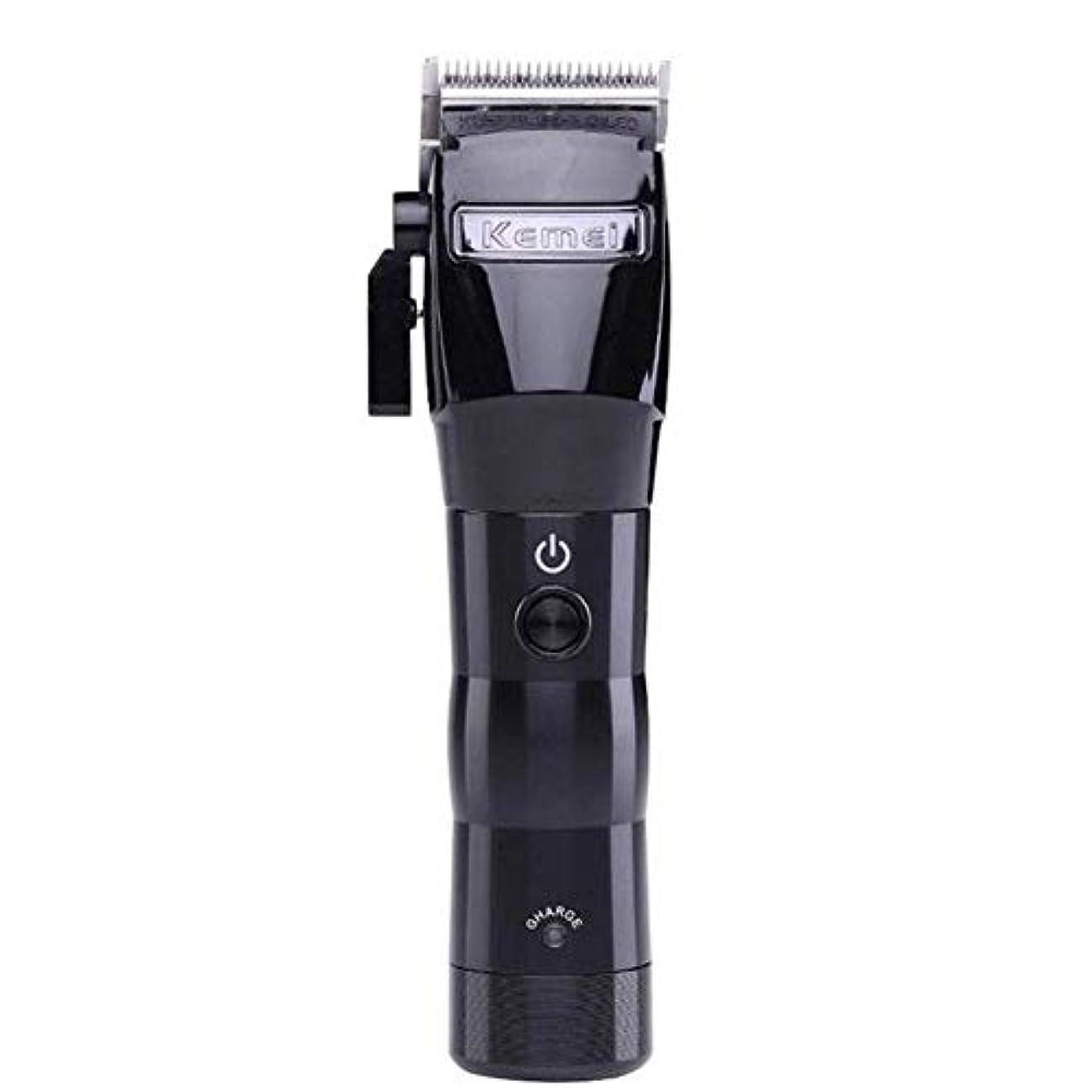 頼む増加する設置バリカン男性メンズ電気ワイヤレスバリカントリマー強力な充電式プロフェッショナル美容鋏メンズホームバリカン