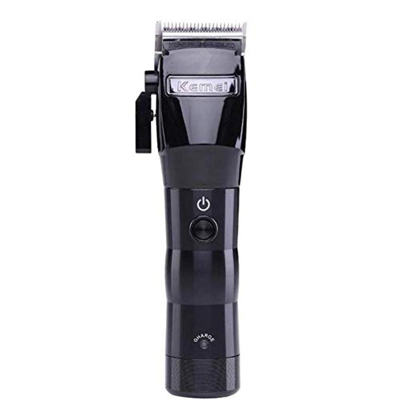 学ぶ楽観的照らすバリカン男性メンズ電気ワイヤレスバリカントリマー強力な充電式プロフェッショナル美容鋏メンズホームバリカン