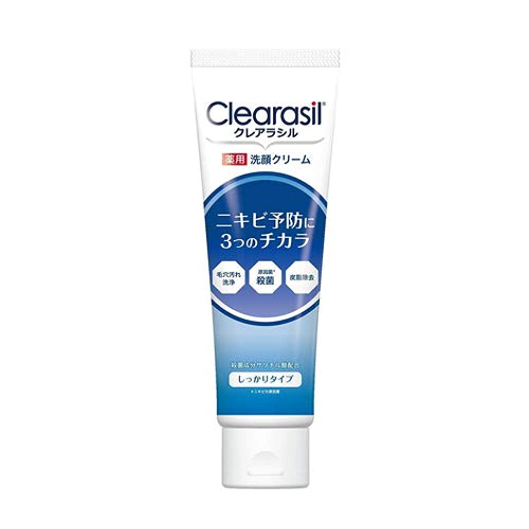 交渉する誘発するヒップクレアラシル 薬用 洗顔クリーム しっかりタイプ 120g 【医薬部外品】