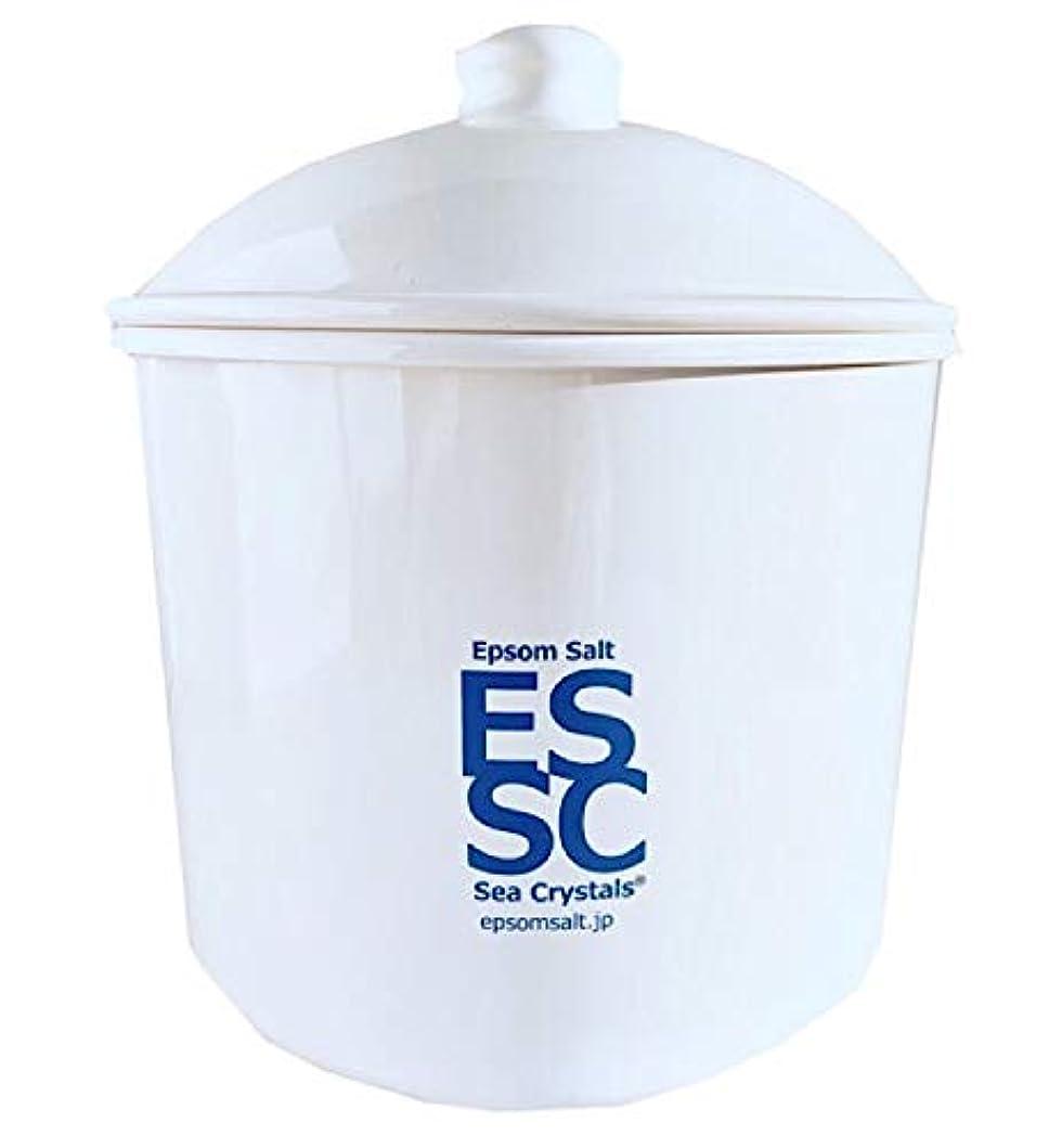 親密な対象かろうじてシークリスタルス 国産 エプソムソルト 入浴剤 ケース入り2.2kg 約14回分 計量スプーン付き 無香料 硫酸マグネシウム