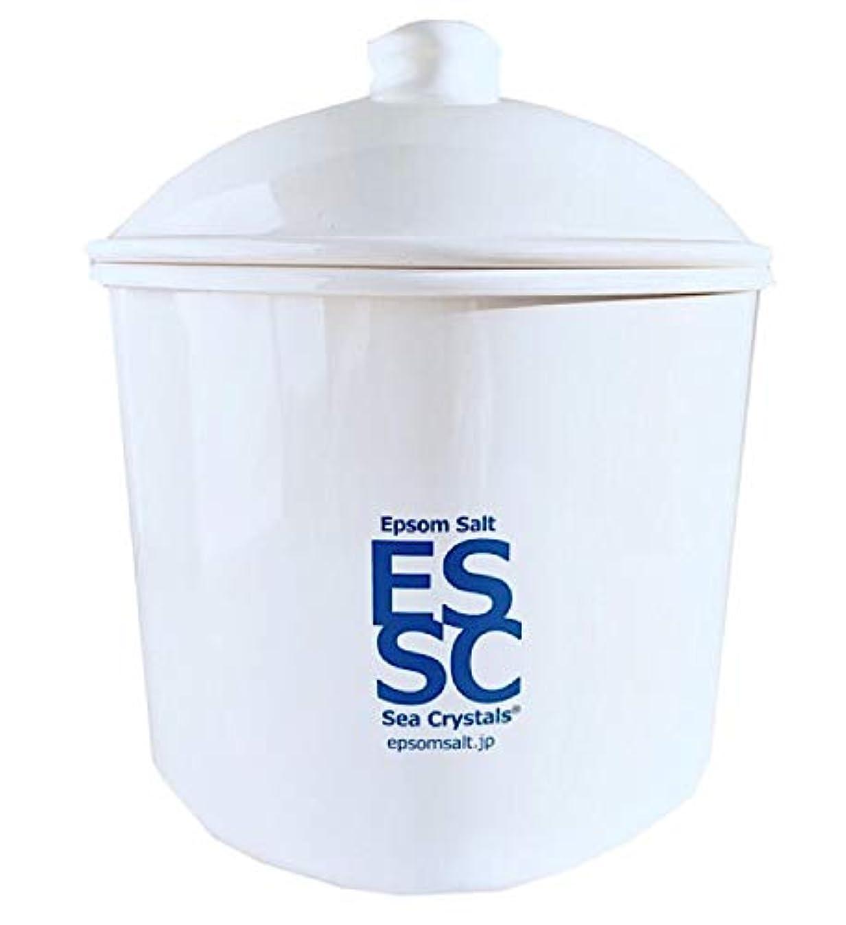 飢饉盗賊酸化物シークリスタルス 国産 エプソムソルト 入浴剤 ケース入り2.2kg 約14回分 計量スプーン付き 無香料 硫酸マグネシウム