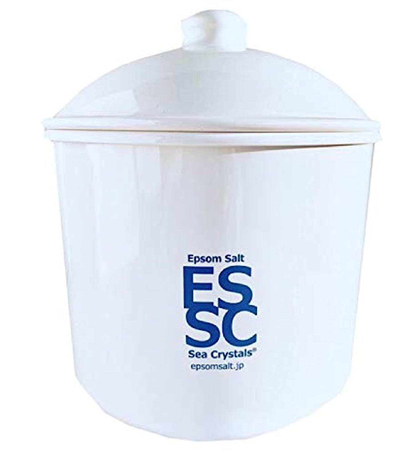 調停する資格情報ハッピーシークリスタルス 国産 エプソムソルト 入浴剤 ケース入り2.2kg 約14回分 計量スプーン付き 無香料 硫酸マグネシウム