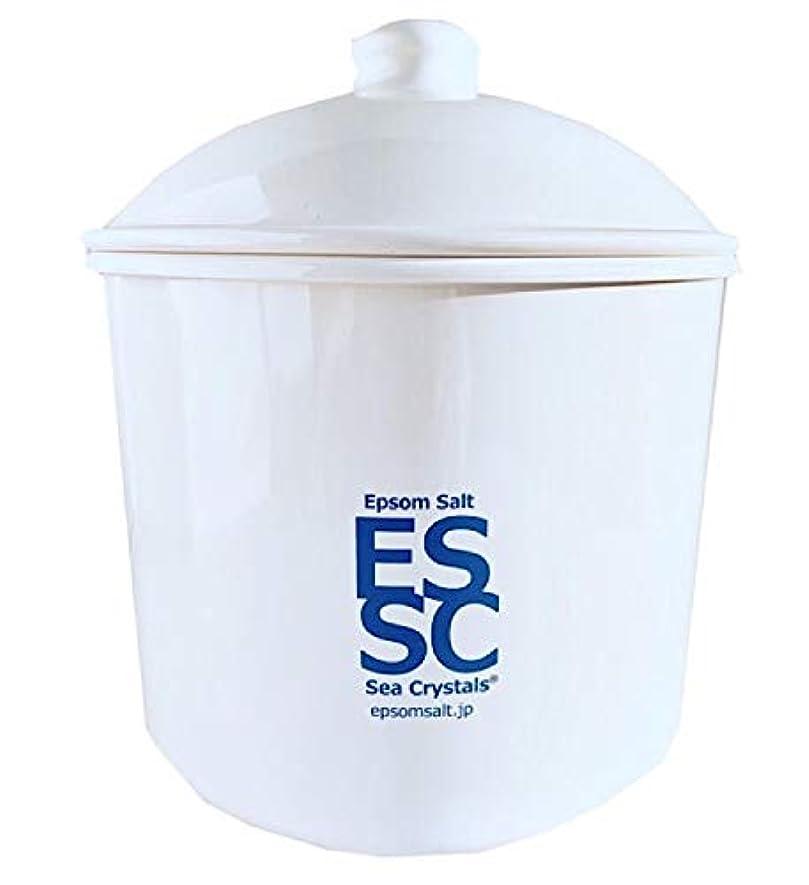 頻繁に半円溶岩シークリスタルス 国産 エプソムソルト 入浴剤 ケース入り2.2kg 約14回分 計量スプーン付き 無香料 硫酸マグネシウム