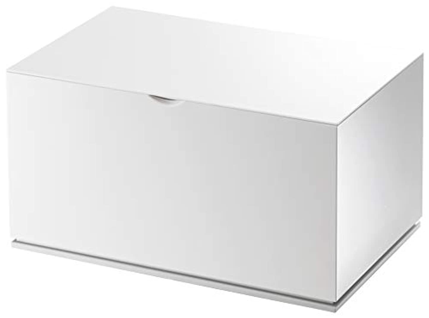 フィードオンラップトップ代表山崎実業 コットン&綿棒ケース ヴェール ホワイト 2427