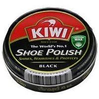 KIWI 油性靴クリーム シュー ポリッシュ SHOE POLISH 黒 100ml 【 さっと一拭き、簡単手軽に靴のメンテナンス】 [並行輸入品]
