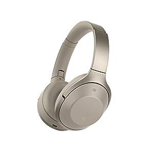 ソニー SONY ワイヤレスノイズキャンセリングヘッドホン MDR-1000X : ハイレゾ対応 Bluetooth/LDAC/NFC対応 マイク付き/ハンズフリー通話可能 DSEE HX搭載 グレーベージュ MDR-1000X C